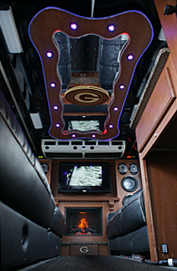Inside the Party Bus Limo, Limo Bus